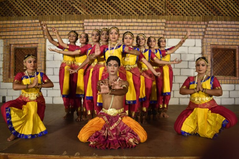 Navadurga Bharatanatyam dance ballet by the students of Pramod Reddy, Abhinetri Arts Academy