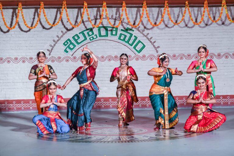 Kuchipudi performance by students of Dr. Alekhya Punjala