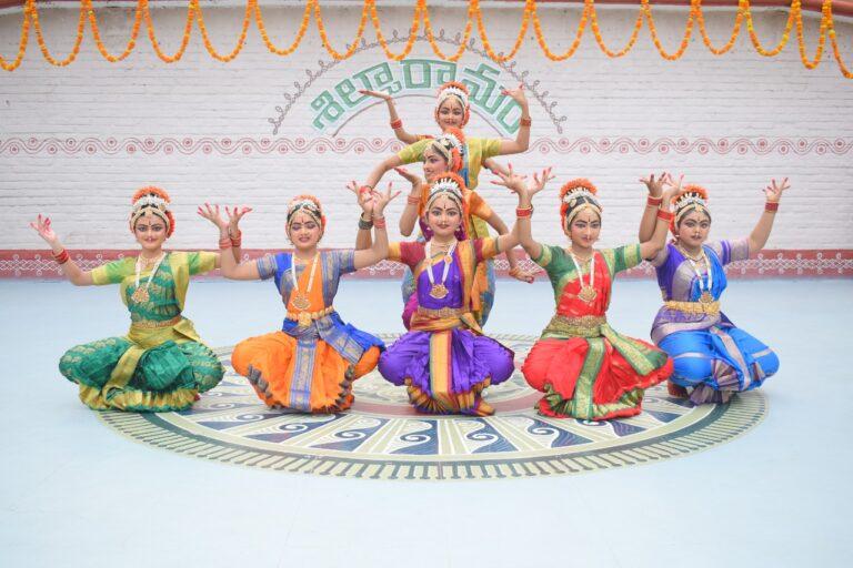 Kuchipudi performance by students of Kalasri Dr. P Rama Devi