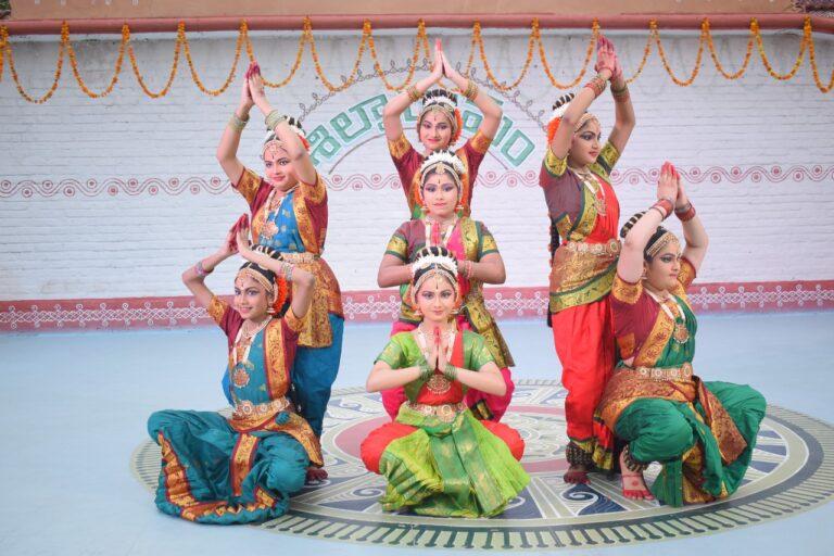 Kuchipudi performance by students of Niveditha Vangala