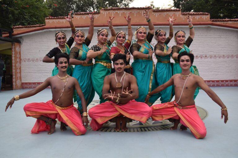 Students of Swathy Somanath present Kuchipudi Dance Ballet Sound of Silence